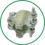 Ground Joint Bolt Clamps