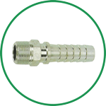 Ground Joint Hose Barbs (Male)