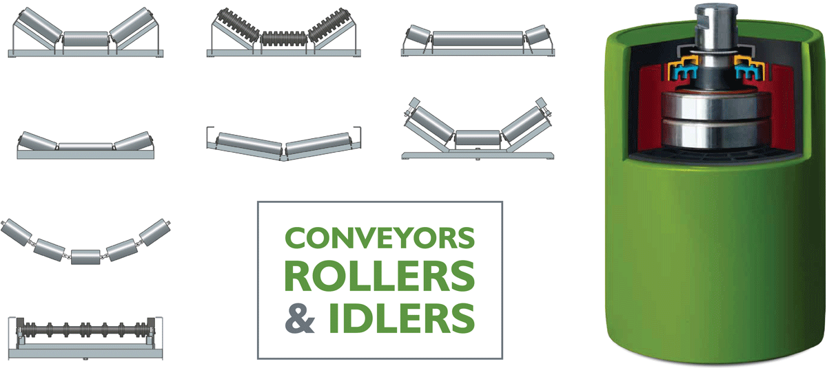 Enduride Conveyors, Idlers, and Rollers