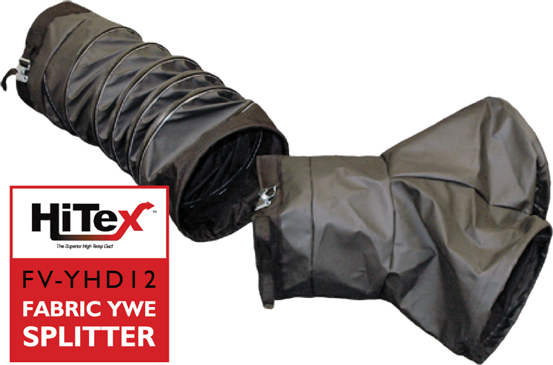 Hitex Fabric WYE Ducting Splitter