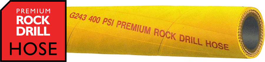 G243 Premium Yellow Rock Drill