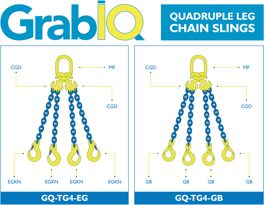 Chain Sling Bridles - 4 Leg