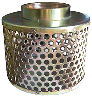 Basket Strainer - Round Hole IRP