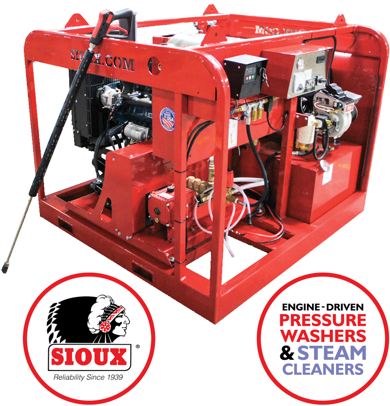 Sioux Pressure Washer (Engine Driven)