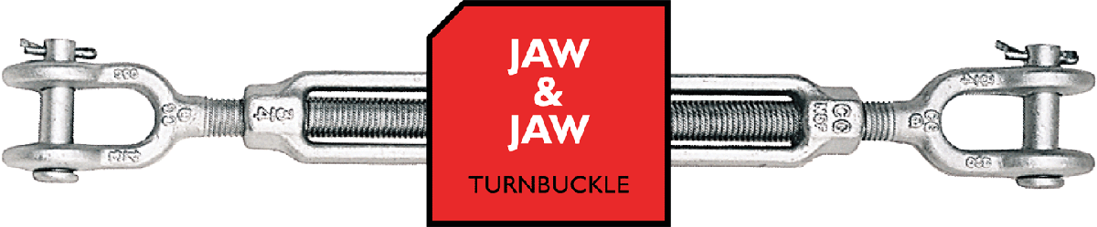 Jaw & Jaw Turnbuckle