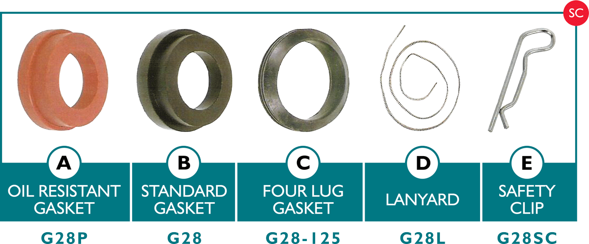 Universal Gaskets and Acessories