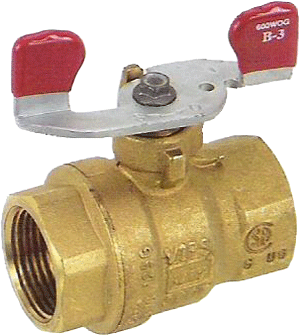 Premium Brass Ball Valve with Wing Handle